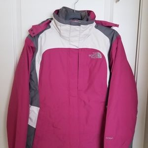 The North Face 3-IN-1 coat – Pink
